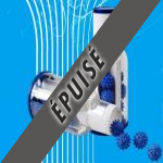 FLIPBUS doseur avec boules bleues de nettoyage de la tuyauterie pvc