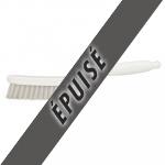 Brosse à main étroite pour joints ou rails de baie vitrée