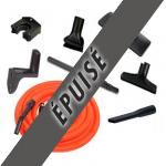 Set 7 accessoires + 1 flexible anti-écrasement de 9 m
