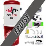 Aspiration centralisée EASY-CLEAN 400 garantie 5 ans + Set 15 m RETRAFLEX + 7 accessoires + kit 1 prise RETRAFLEX nouvelle génération, 20% plus petit que le premier modèle! + kit prise balai (rayon d'action 150 m2)