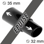 Adaptateur 32mm 35mm