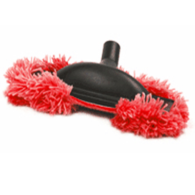 Brosse mop rouge speciale parquet