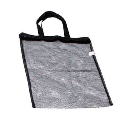 Sacoche noire porte accessoires en tissu