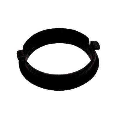 Anneau barrure noir pour embout de flexible standard RETRAFLEX
