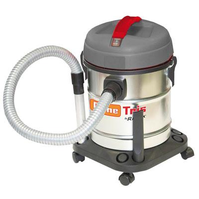 Bidon vide cendres CENETRIS cendres froides, eaux, poussières (3 en 1), à moteur électrique 1200W, 25L + accessoires