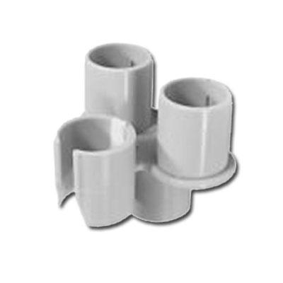 Porte accessoires gris clipsable sur canne