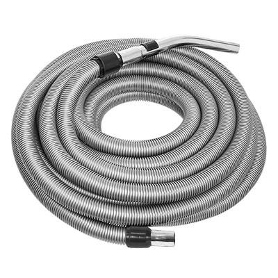 Flexible gris de 4m de long pour aspiration centralisée - Compatible toutes marques