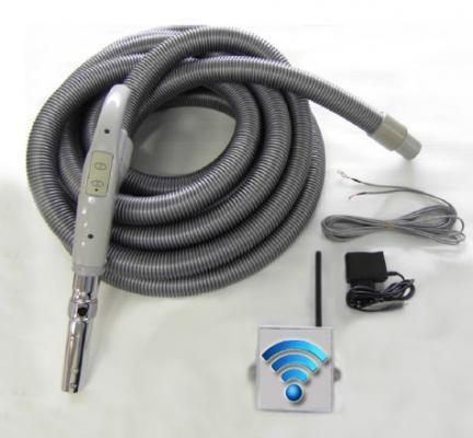 Flexible de12 m à télécommande intégrée pour équipement non filaire type ALDES