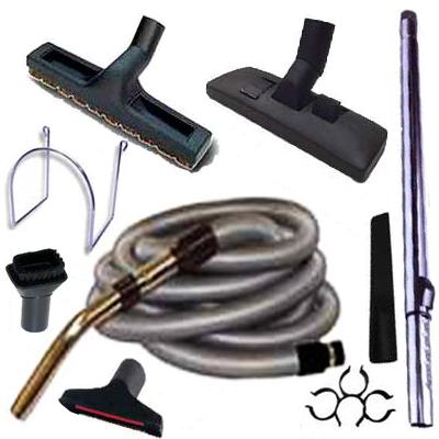 Set 8 accessoires + 1 flexible standard 8 m