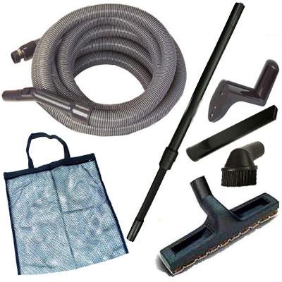 Set établis de garage (6 accessoires + flexible garage)