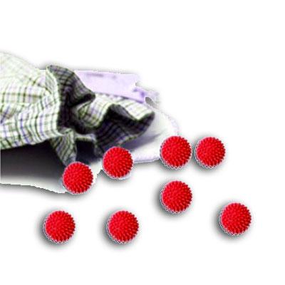 Recharge de 32 boules rouges pour doseur FLIPBUS
