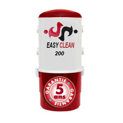 Aspiration centralisée EASY-CLEAN 200 garantie 5 ans (jusqu'à 200 M²)