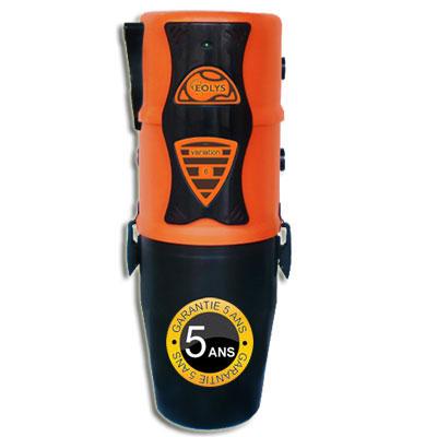 Aspiration centralisée EOLYS 6 à variateur de vitesse GARANTIE 5 ANS (jusqu'à 250 m²) Filtration hybride (avec ou sans sac)