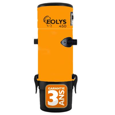 Aspirateur Centralisé Eolys 450 - Surface jusqu'à 350 m2 - Garantie 3 ans