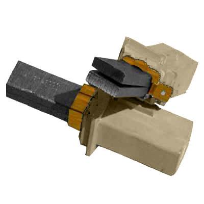 Charbons pour moteur 117501 / 117502 / 117572 / 117201 / 119599 / 117157 / 117743 / 117741 / 117525 / 117744