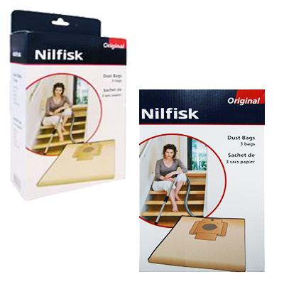 Pochette de 3 Sacs papier Nilfisk CV10/20/30i/30i RRC/Alto Centix 50