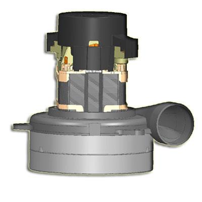 Moteur Q6600-005T-MP d'aspiration centralisée ElectroMotors remplace les moteurs Ametek 116353, 116355, 116414, 116420, 117101, 117275