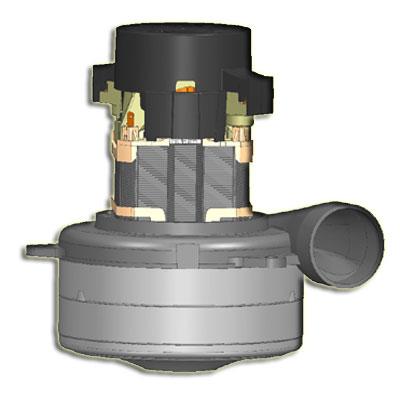 Moteur Q6600-057A-MP-21 d'aspiration centralisée ElectroMotors remplace les moteurs Ametek 119678, 119710, 119711