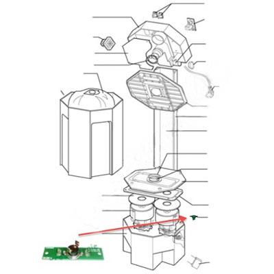 Thermostat de sécurité et raccordement 2ème moteur Boosty
