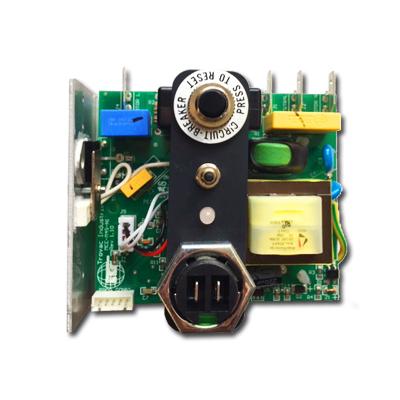 Carte électronique 240V 8A pour centrales d'aspiration Cyclovac DL310SV, GX710SV et DL140SV, Cyclovac ELEREL21