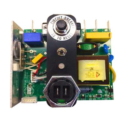 Carte électronique 240V 10A pour centrales d'aspiration cyclovac DL210SV, DL410SV et GX910SV, Cyclovac ELEREL22