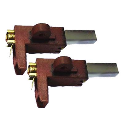Jeu de charbons pour moteur Aldes avec support