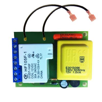 Carte électronique pour centrale d'aspiration AENERA 1300L, 1800PLUS et 2100PLUS (avec disjoncteur)