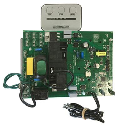 Carte electronique DRAINVAC pour centrale Automatique