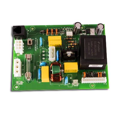 Carte électronique de puissance Évolution 1.0, (230V) pour centrales TC2, TC4, TP1A, TP2A, TP3A, TP4A, TX4A, Aertecnica CM901