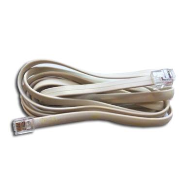 Câble électrique basse tension 12 V avec 2 fiches connecteurs type RJ45 pour le démarrage des centrales Perfetto et Perfetto inox, Aertecnica 3000388