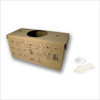 Bac à poussières en carton écologique pour centrale QB Q200 (boîte de 5 pcs), Aertecnica CM814Q