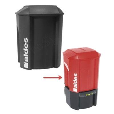 Cuve C.Power avec couvercle et support de sac, Aldes 11171481