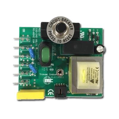 Carte électronique STD 240V 10 Amps pour centrale d'aspiration cyclovac GS95, GS115, E215, E615, E715, H215, H615 et H715 (avant mi-mars 2015), Cyclovac ELECIR903