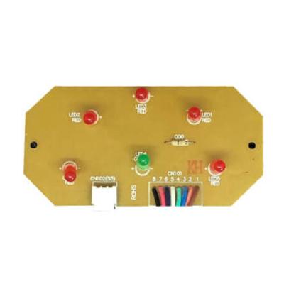 Carte Électronique Panneau de Commande pour centrale d aspiration Sach  Typhoon LED Sach R10061 SC
