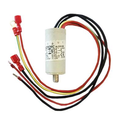 Condensateur pour moteur aspiration centralisée Aertecnica M04/2, M04/3, M05/2, M05/3 et M05/4, Aertecnica CM897