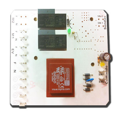 Carte electronique de remplacement pour centrales SPIROCLEAN FT12