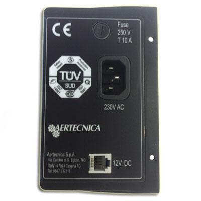 Groupe panneau de commande avec carte électronique pour centrale classic C500 à 2 moteurs, Aertecnica CM869