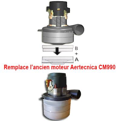 Moteur pour centrales PX250, P250, TP2 et C250, Aertecnica CM990