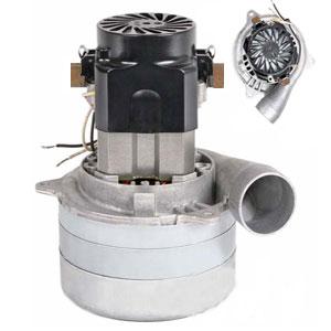 Moteur Ametek Lamb 117123 pour Centrale d'aspiration type Drainvac AE2465-C/F, AE2465-F8, DF1R130, DF1A150, DF2P56, DEMO-02, TETE07 et TETE12