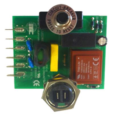 Carte électronique 15 Amps Type Duovac PT3211, PT3311, Pro 20 et Signature 185