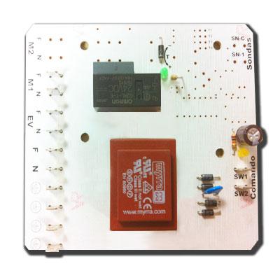 Carte électronique type DRAINVAC pour centrale 1 moteur