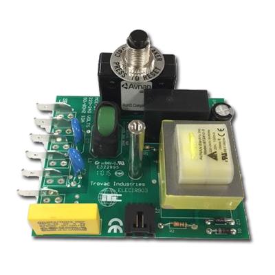 Carte électronique STD 240V 10 Amps pour centrale d'aspiration cyclovac E211, E311, E711, Axess, GS111, GS211, GS311 et GS711, Cyclovac ELECIR903 remplace ELECIR66