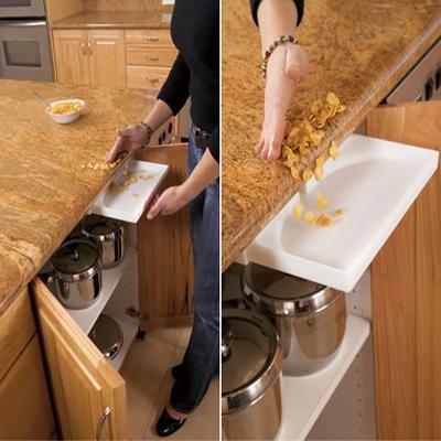 Drawervac prise aspirante pour tiroir de cuisine