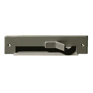 Clapet de cuisine gris aluminium