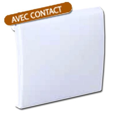 Prise d'aspiration centralisée ALDES Modèle NEO blanche à contact
