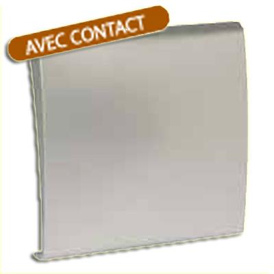 Prise d'aspiration centralisée ALDES Modèle NEO gris alu à contact