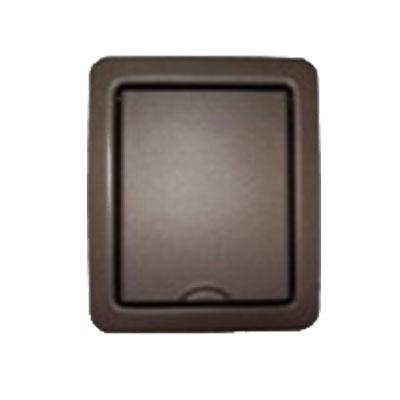 Prise en acier inoxydable plate Bronze