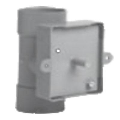 plaque de montage raccord tube