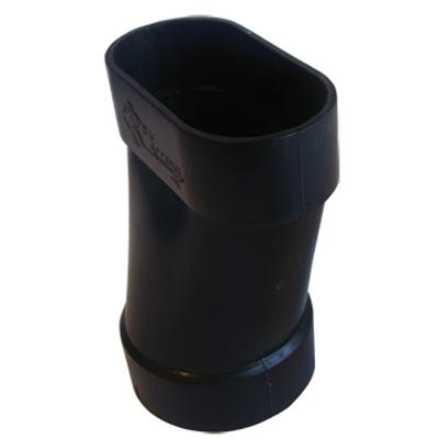 Réduction F-F d'aspiration centralisée ovale série SlimLine Vac pour cloison 70 mm vers pvc Ø 50,8 mm, SACH AI9107-SC