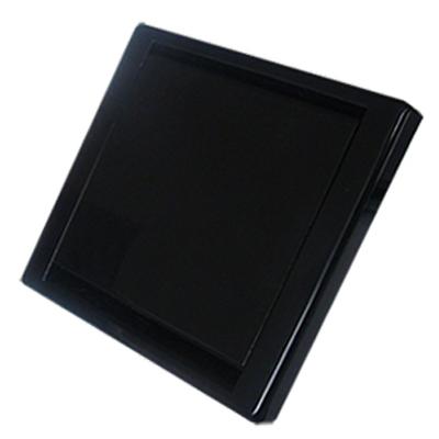Prise Quadra noire carrée
